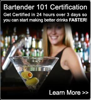 Bartending Courses - Bartender 101 - BartenderOne