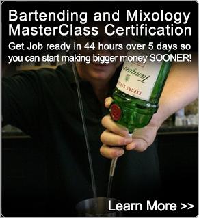 Bartending Courses - MasterClass - BartenderOne