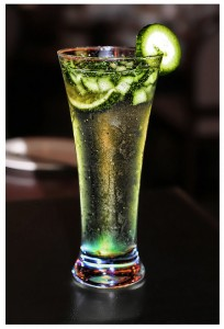 When you see cucumber, you think; cool, crisp, and refreshing... Perfect. I'll have two please!