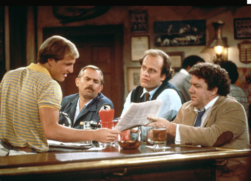 Cheers is a fairly good example of keeping your regulars. Everyone knew everyones name - It was almost a family!