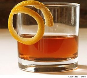 The noted and extremely simple Sazerac.